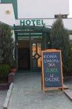 旅馆餐馆 库存照片