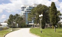 旅馆鲁宾,圣徒Cosntantine和海伦娜依靠 库存图片