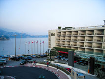 旅馆费尔蒙特- Montecalo 免版税库存照片