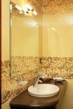 旅馆洗手间 免版税库存图片