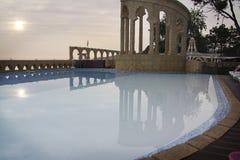 旅馆水池 库存图片