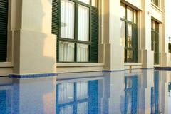 旅馆水池 库存照片