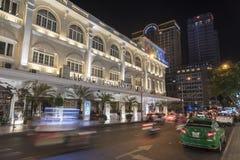旅馆洲际的西贡(胡志明市) 库存照片