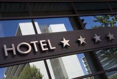 旅馆 免版税图库摄影