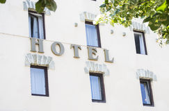 旅馆 免版税库存图片