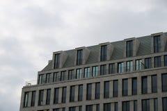 旅馆Adlon,柏林,屋顶部分 免版税图库摄影