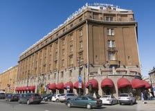 旅馆Astoria在圣彼德堡 库存照片