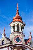 旅馆Astoria, Sztarill宫殿, Oradea塔  图库摄影