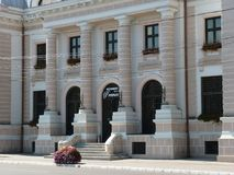 旅馆Bârlad总理- 库存照片