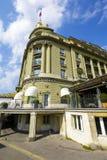 旅馆Bellevue宫殿在伯尔尼 库存图片