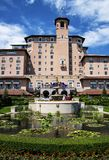 旅馆Broadmoor,五个星,在科罗拉多泉 图库摄影