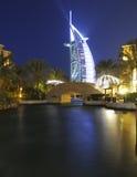 旅馆Burj Al阿拉伯人 免版税库存图片