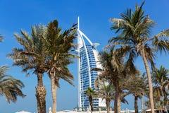 旅馆Burj Al阿拉伯人Jumeirah在迪拜 库存图片