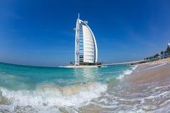 旅馆Burj Al阿拉伯人Jumeirah在迪拜 免版税库存照片