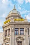 旅馆Capsa在街市布加勒斯特 库存图片