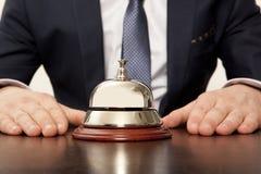 旅馆Concierg 免版税库存图片