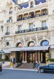 旅馆de巴黎在摩纳哥 图库摄影