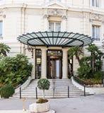 旅馆de巴黎在摩纳哥 免版税库存照片