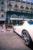 旅馆de巴黎,摩纳哥 库存图片