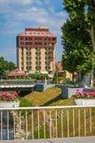 旅馆Dunav在武科瓦尔 库存图片