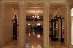 旅馆hallroom 免版税库存照片