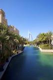 旅馆jumeirah madinat 库存照片