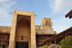 旅馆jumeirah madinat 库存图片