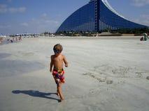 旅馆Jumeirha海滩在迪拜 图库摄影