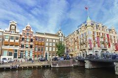 旅馆L'Europe,阿姆斯特丹 图库摄影