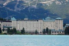 旅馆Lake Louise 库存图片