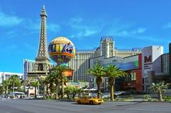 旅馆las巴黎状态团结了维加斯 库存图片