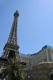 旅馆las巴黎维加斯 库存图片