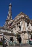 旅馆las巴黎维加斯 库存照片
