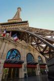 旅馆las巴黎维加斯 免版税库存照片