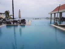 旅馆Leela科瓦兰,喀拉拉 免版税库存图片