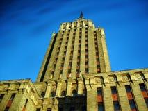 旅馆leningradskaya 免版税库存照片