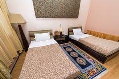 旅馆Migmar旅馆客房在廷布,不丹 图库摄影