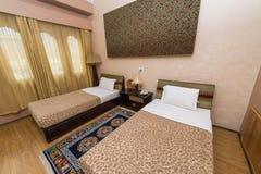 旅馆Migmar旅馆客房在廷布,不丹 库存图片