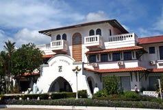 旅馆Nacional在大卫-巴拿马共和国 库存照片