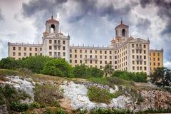 旅馆Nacional, Havanna 免版税库存图片