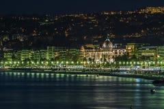 旅馆Negresco在尼斯 免版税库存图片