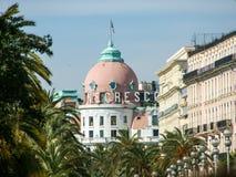 旅馆Negresco 免版税图库摄影