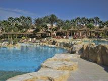 旅馆PickAlbatros在洪加达是一个普遍的旅游目的地 免版税库存图片