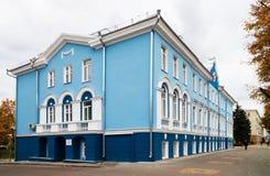 旅馆Shvanvich在沃罗涅日,叫作有狮子的议院,在t 库存图片