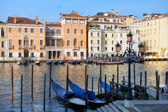 旅馆Westin欧罗巴和雷日纳威尼斯,意大利 免版税库存图片