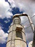 旋流分离器:尘土purifiaction 库存图片