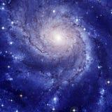 旋涡星云M101 免版税库存图片