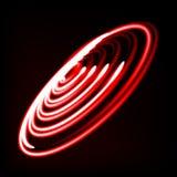 旋涡,黑洞,与转动的畸变的辐形线 抽象螺旋,漩涡形状,元素 免版税库存照片
