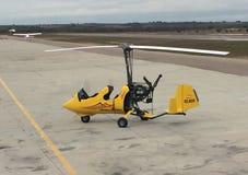 旋翼飞机 库存图片