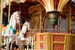 旋转木马在巴黎 库存图片